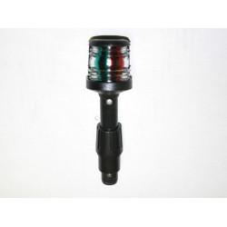 Främre lanterna, röd/grön 135 mm