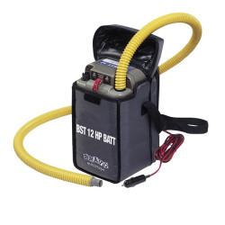 Luftpump, 12v  BST 800 med inbyggt batteri